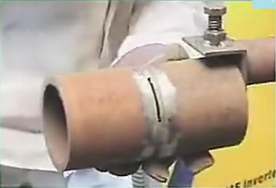 比较新视频解决二保焊焊接管道教程