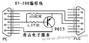 PLC通讯电缆编程电缆自制详解(图)